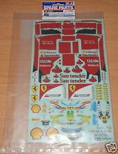 Tamiya 51523 Ferrari F2012 Spare Sticker Set (F104/58559 Ferrari F2012), NIP