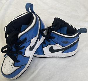 Toddler Nike Jordan 1 Mid SE Blue Size 9C