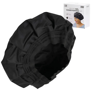 """Cordless Heated Deep Conditioning Cap Heat Cap for Deep Conditioning Black 10"""""""