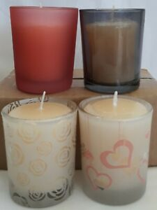 Votive Glass Jar Candle Holders