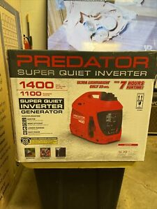 1400 WATT Portable SUPER-QUIET INVERTER Generator ⚡ NEW ⚡ CO-SECURE