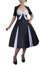 Polka Dot Machine Washable Regular Size Dresses for Women