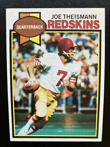 JOE THEISMANN, Washington Redskins, #155, Ex-Mt, 1979 Topps Football