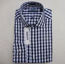 TOMMY HILFIGER MEN CLASSIC SHIRT Size M L XL XXL NWT blue white NEW buttons