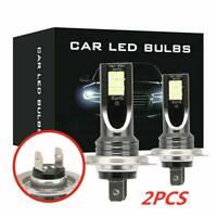 1Pair  H7 110W 24000Lm LED Car Headlight Conversion Globes Bulb Beam 6000K 12V