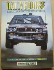 Rallycourse Annual 1989-90  8th Rallycourse Annual good condition with DW