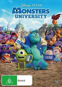 MONSTERS UNIVERSITY : NEW DVD