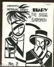 Diary of the Siege of Ladysmith # 2 -Diary by Miss Bella Craw   sb  1980