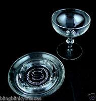 Sheraton Hotel Glass Stemware Ashtray Vintage  Lot 2
