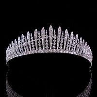 4cm High Twinkling Crystal Wedding Bridal Bridesmaid Prom Party Pageant Tiara
