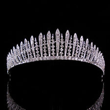 4cm High Twinkling Crystal Wedding Bridal Bridesmaid Prom Party Pageant Tiara