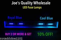 (7)BLUE LED FUSE 8V LAMP- SX737 SX727 7730 SX838 SX6000/PIONEER / COLOR CHOICE