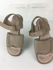 Drew Shoe Barefoot Freedom Womens Argo Sandal Nude  Calf Leather Size 8.5M (ssw2