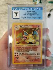 CGC 7 Charizard Holo Base Set Unlimited 4/102 Pokemon 1999 Vintage WOTC NM