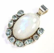 Moonstone Topaz Fine Necklaces & Pendants