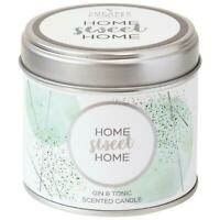 Shearer Candles Home Sweet Home Gin & Tonic, Scented Candle - 40 Hours Burn Time