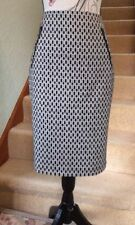 Cotton Blend Straight, Pencil Skirt Size Petite for Women