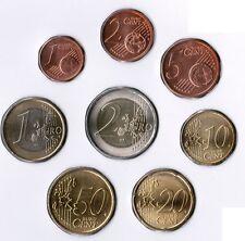 Vatican pièces en cours 1 cent jusqu'à 2 estampé frais en 8er étui NEUF