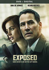 Exposed DVD only 2016 movie starring Laura Gomez, Ana deArmas, Keanu Reeves