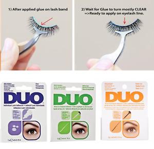 Duo Eyelash Brush On Striplash Adhesive Clear Or Dark Glue 5g/ wt 0.18 OZ FASt!*