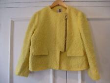 Orla Kiely yellow mohair/wool jacket UK 10 US 6