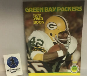 vintage Green Bay Packers 1972 yearbook NFL Good Condition