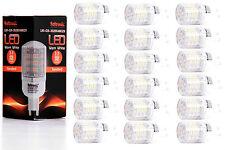 18X G9 LED Lampe von Seitronic mit 3 Watt, 240LM und 48LEDs - Warm weiß 2900K