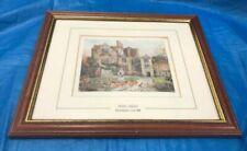 Vintage Houses Framed Art Prints