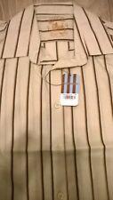 TOPMAN Mens light grey stripe trendy smart shirt Size S/M/L/XL NEW TOPSHOP