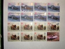 1998 LAND SPEED RECORDS STAMPS x 16 (sg2059-62) VFU