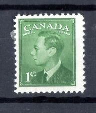 """1949 KING GEORGE VI WITH """"POSTES-POSTAGE"""", UC# 284, 1c,  IN MH  COND"""