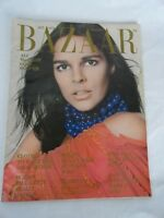 Harpers Bazaar Magazine Oct 1972 Ali MacCraw Ads Fashion