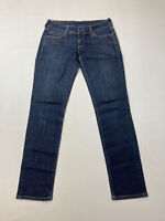 LEVI'S SLIM Jeans - W29 L32 - Navy - Great Condition - Women's