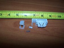 CORD LOCK FOR LEVOLOR CELLULAR SHADE OLD TYPE WHITE WITH  NEW OLD STOCK
