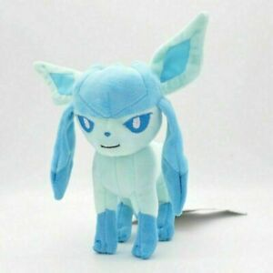 """Glaceon Plush Soft Toy Character Stuffed Animal Doll Teddy 8"""""""