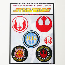 STAR WARS Rebel Alliance Patches - Iron-On Patch Mega Set #26 - FREE POST