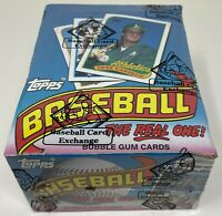 1989 TOPPS MLB Baseball Card BOX 36 Unopened Wax PACKS Sealed BBCE Wrapped