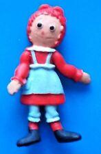 "1968 SUPER MINI-FLEX lakeside 3"" doll figure -- RAGGEDY ANN tt"