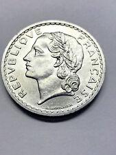 1950 France 5 Francs Aluminum BU #12685