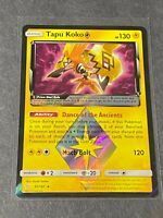 51//181 Pokemon PRISM STAR Card SM TEAM UP /<HOLO RARE/> TAPU KOKO
