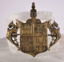 1893 Columbian Exposition Chicago World''s Fair Crest Coat of Arms Pin