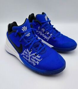 NIKE Kyrie Flytrap II Sneakers YOUTH Basketball Shoes, size 4.5Y AQ3412-400 Blue