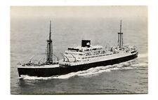 Vintage Postcard ROYAL INTEROCEAN LINES Cruise Ship Boisse Vain/Ruys/Tegelberg
