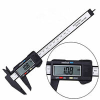 Portable Electronic LCD Digital Vernier Caliper Depth Measurement Gauge Tools