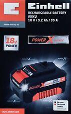 Einhell Power X-Change Akku 18V 5.2Ah Li-Ionen Power Batterie Aufladbar Gerät