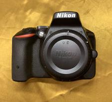 Nikon D5500 24.2MP Digital SLR Camera - Black (Body Only)`*READ DESCRIPTION*
