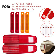 Tail Light Lens & Side Fender Kit Fit for FORD F150 F250 E150 Truck 78-79 Bronco