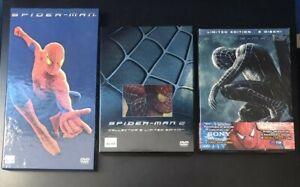 Spider-Man 1, 2 e 3 Trilogia DVD EDIZIONI LIMITATE NUMERATE - Sam Raimi