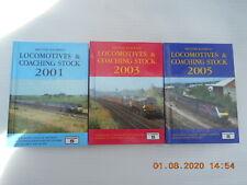 PLATFORM 5  BRITISH RAILWAYS LOCOMOTIVES & COACHING STOCK X 3    2001/2003/2005