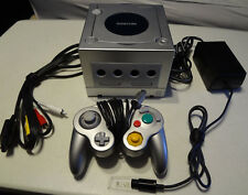 Platinum Silver Nintendo GameCube Console -Near Mint w/OEM controller/cords!!!!